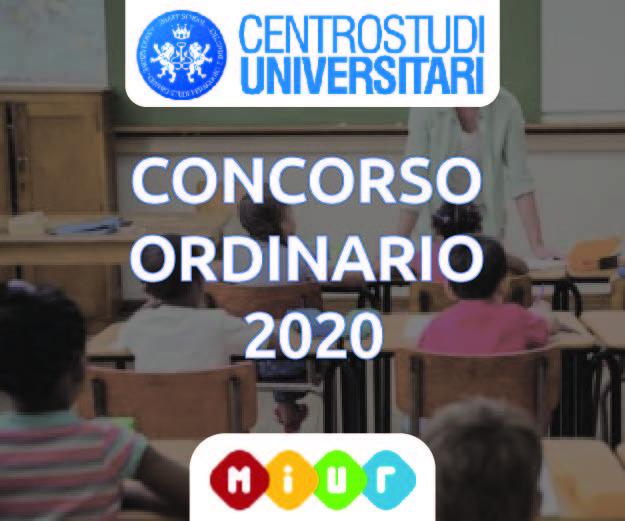 Concorso Ordinario 2020